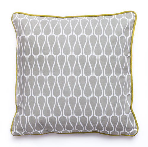 Pillow SEEDS Graphic Grey 40x40