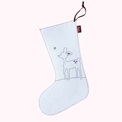 SNE design Christmas stocking- deer