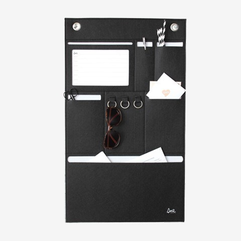 SNE design Organiser Black