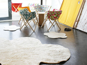 Happy Happy Big Cloud Rug Set