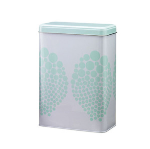 Can in mint dots design