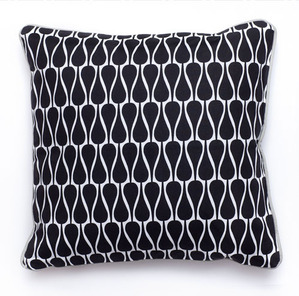 Pillow SEEDS Graphic Black 40x40