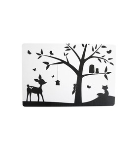 SNE design Buttering Board-animal tree black