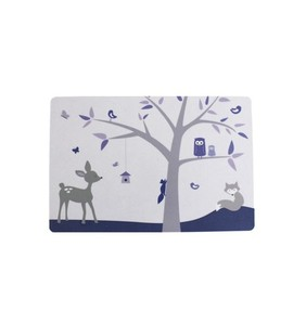 SNE design Buttering Board- animal tree purple